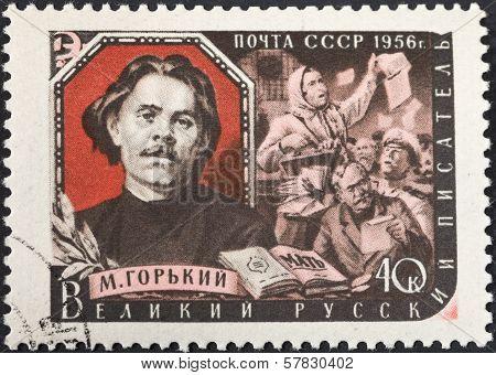 Famous Russian Writer Maxim Gorky