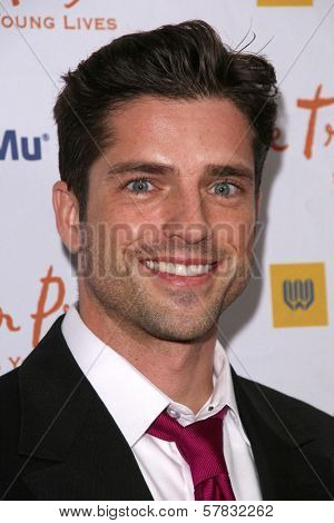Scott Bailey   at the Trevor Project's 11th Annual Cracked Xmas Fundraiser. The Wiltern Theatre, Los Angeles, CA. 12-07-08