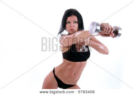 Girl Is Working Out