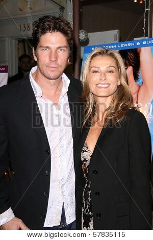 Michael Trucco and Sandra Hess   at the launch party for 'Dance Body Beautiful' series of DVDs by Lisa Rinna. Belle Gray, Sherman Oaks, CA. 12-09-08