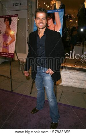 Louis van Amstel   at the launch party for 'Dance Body Beautiful' series of DVDs by Lisa Rinna. Belle Gray, Sherman Oaks, CA. 12-09-08