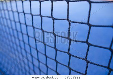 Paddle Tennis Or Tennis Net