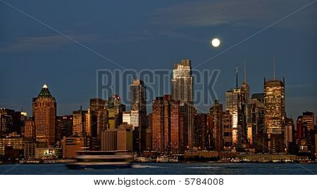Photo New York Cityscape Skyline, Usa