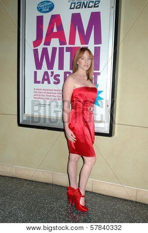 Jenny McShane   at LA's Best Community Jam Against Violence and talent showcase. Kodak Theatre, Hollywood, CA. 12-14-08