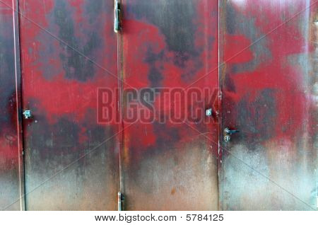 Old Steel Door