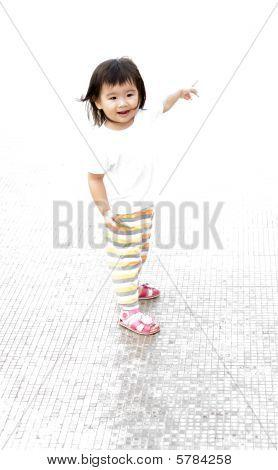 High Key Baby Portrait