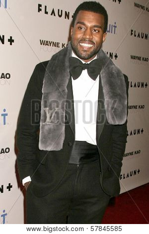 Kanye West   at Flaunt Magazine's 10th Anniversary Party And Holiday Toy Drive. Wayne Kao Mansion, Homby Hills, CA. 12-18-08
