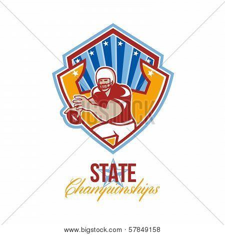 American Football Quarterback State Championships