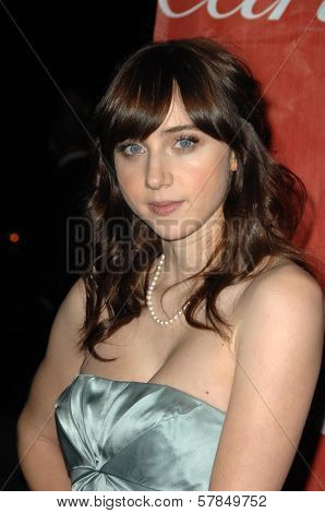 Zoe Kazan  at the Palm Springs Film Festival Gala. Palm Springs Convention Center, Palm Springs, CA. 01-06-09