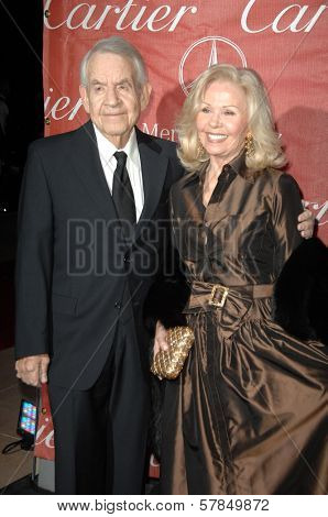 Tom Bosley and Patricia Carr  at the Palm Springs Film Festival Gala. Palm Springs Convention Center, Palm Springs, CA. 01-06-09