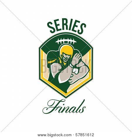 American Gridiron Running Back Series Finals Crest
