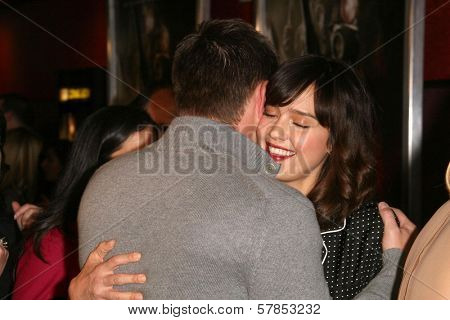 Jensen Ackles and Jessica Alba  at the Los Angeles Special Screening of 'My Bloody Valentine 3D'. Mann's Chinese Six, Hollywood, CA. 01-08-09