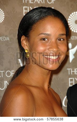 Joy Bryant  at the 2nd Annual Art of Elysium Black Tie Charity Gala 'Heaven'. The Vibiana, Los Angeles, CA. 01-10-09