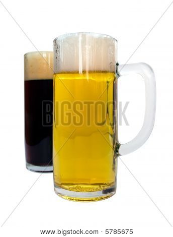 Lager And Dark Beer
