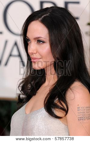 Angelina Jolie at the 66th Annual Golden Globe Awards. Beverly Hilton Hotel, Beverly Hills, CA. 01-11-09