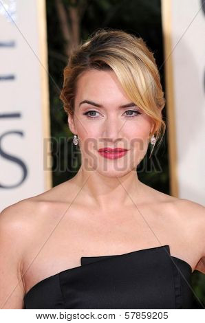 Kate Winslet at the 66th Annual Golden Globe Awards. Beverly Hilton Hotel, Beverly Hills, CA. 01-11-09