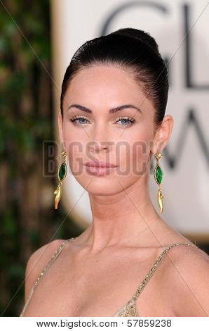 Megan Fox  at the 66th Annual Golden Globe Awards. Beverly Hilton Hotel, Beverly Hills, CA. 01-11-09