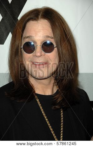Ozzy Osbourne  at the FOX Winter All-Star Party. My House, Los Angeles, CA. 01-13-09