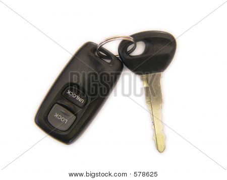 Car Ignition Key And Remote Key