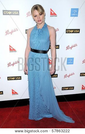 Emilie de Ravin  at the G'Day USA Australia Week 2009 Black Tie Gala. Renaissance Hotel Grand Ballroom, Hollywood, CA. 01-18-09