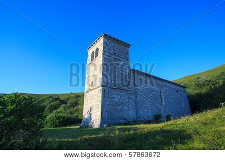 St. Jerome Church In The Nanos Mountain
