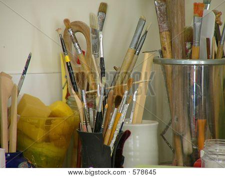 A Potter 's Studio And Tools 2