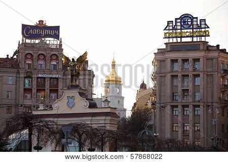 Indipendence Square, Kiev