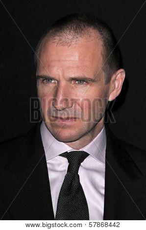 Ralph Fiennes at the Cinema Vanguard Award Presentation Gala at the Santa Barbara International Film Festival. Arlington Theater, Santa Barbara, CA. 01-27-09
