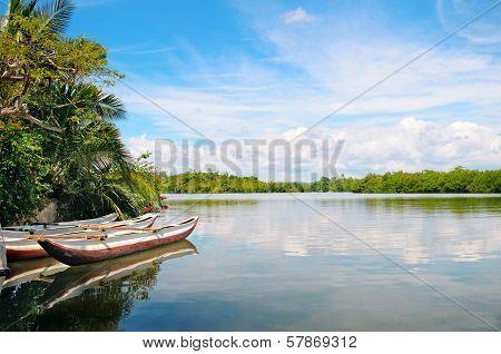 River And Pleasure Boats