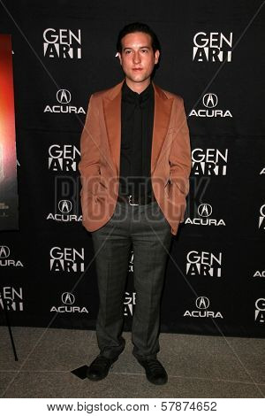 Chris Marquette at the Los Angeles Special Screening of 'Fanboys'. Clarity Screening Room, Beverly Hills, CA. 02-03-09