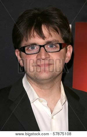 Ernest Cline at the Los Angeles Special Screening of 'Fanboys'. Clarity Screening Room, Beverly Hills, CA. 02-03-09
