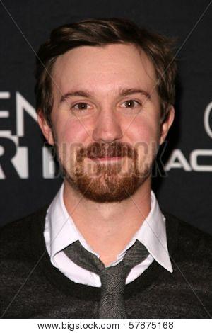 Sam Huntington at the Los Angeles Special Screening of 'Fanboys'. Clarity Screening Room, Beverly Hills, CA. 02-03-09