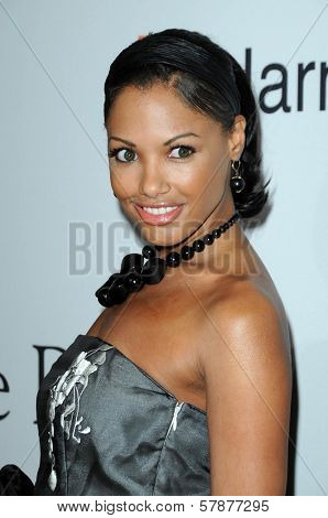 K. D. Aubert at the Salute To Icons Clive Davis Pre-Grammy Gala. Beverly Hilton Hotel, Beverly Hills, CA. 02-07-09