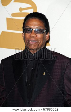 Herbie Hancock in the press room at the 51st Annual GRAMMY Awards. Staples Center, Los Angeles, CA. 02-08-09