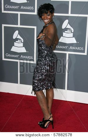 Fantasia Barrino at the 51st Annual GRAMMY Awards. Staples Center, Los Angeles, CA. 02-08-09