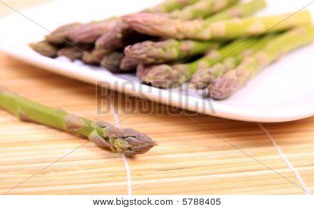 Asparagus snack.