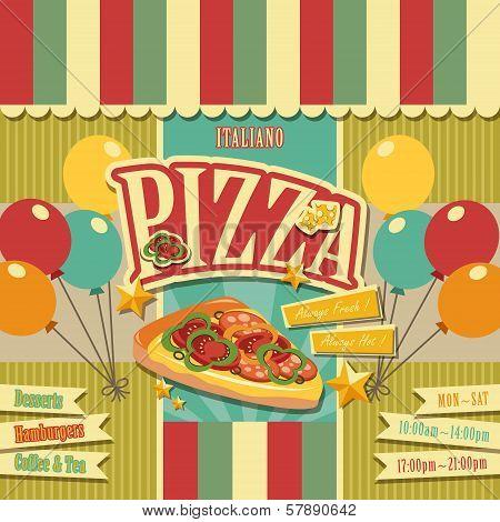 Pizzeria Menu