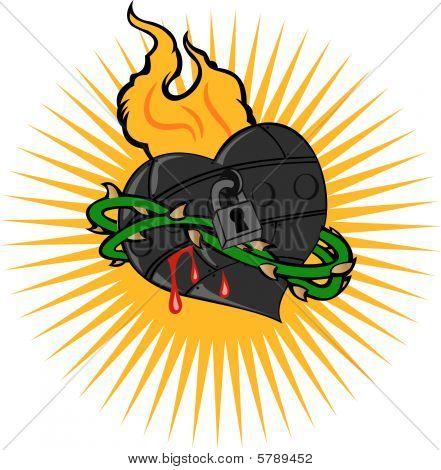 Fire Iron Heart