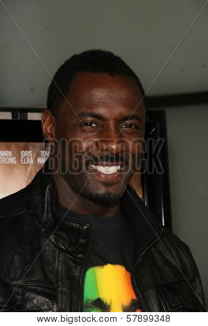 Idris Elba  at the Los Angeles Premiere of 'Rocknrolla'. Pacific Cinerama Dome, Hollywood, CA. 10-06-08