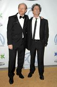 Ron Howard and Brian Grazer at the 20th Annual Producers Guild Awards. Hollywood Palladium, Hollywoo