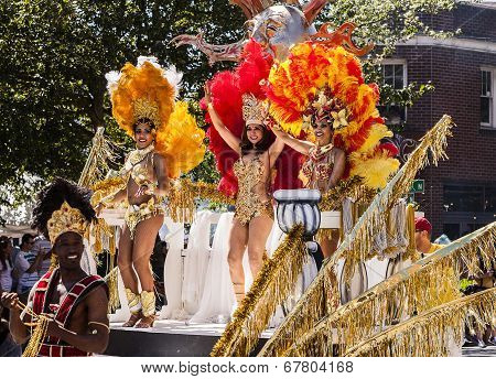 Dancers On Parade Float