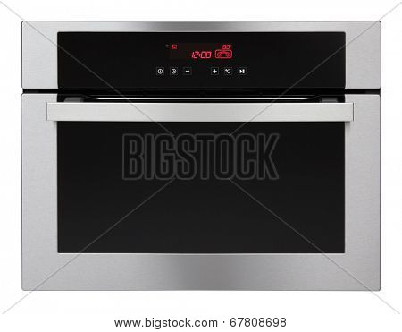 Steam oven isolated on white background