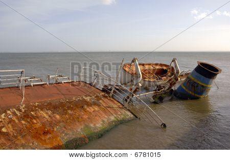 Ship Wreck Sunken