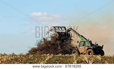 Crop Residue Burning