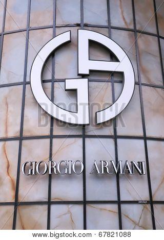 Giorgio Armani company logo