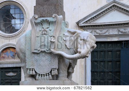 Elephant Of The Egyptian Obelisk