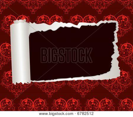 Valentines Day decorative paper