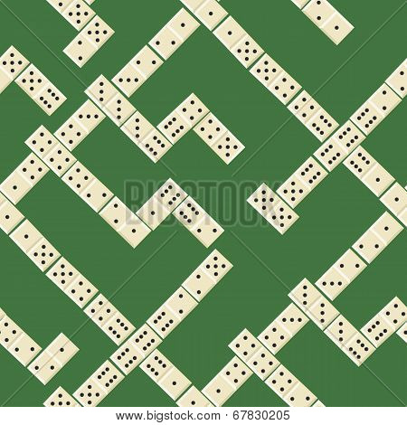 Seamless Domino Pattern