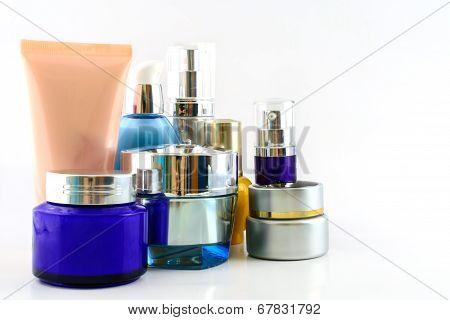 Set Of Various Cosmetics