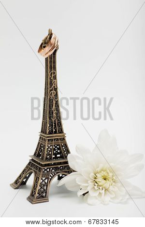 Married on The Eiffel tower